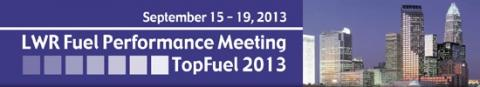 LWR Fuel Performance Meeting 2013 banner